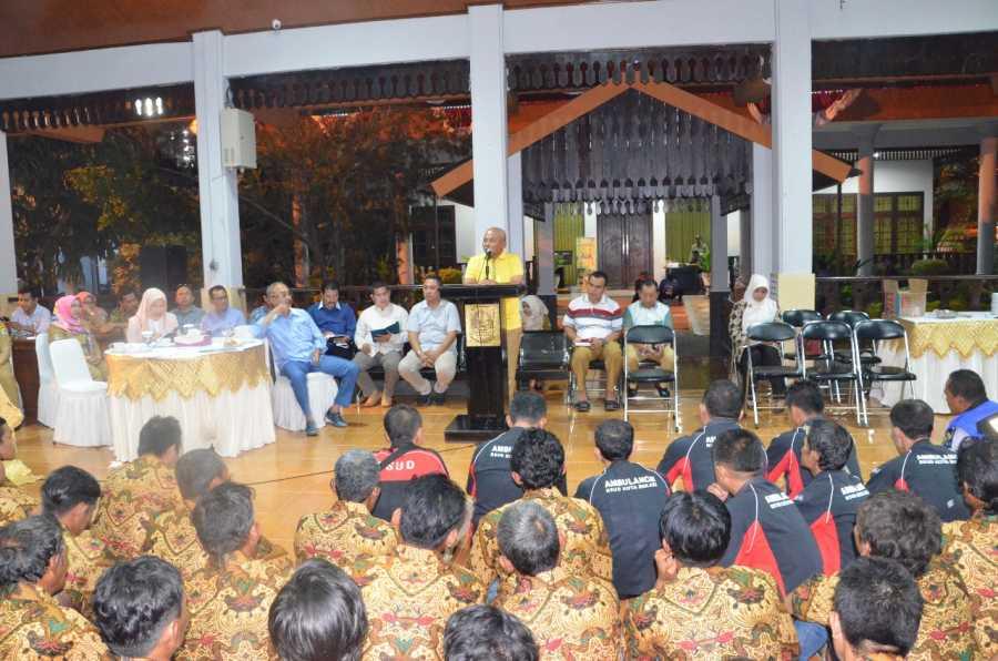 Wali Kota Lakukan Audiensi Dengan TIM URC Untuk Tingkatkan Fungsi Dan Pelayanan
