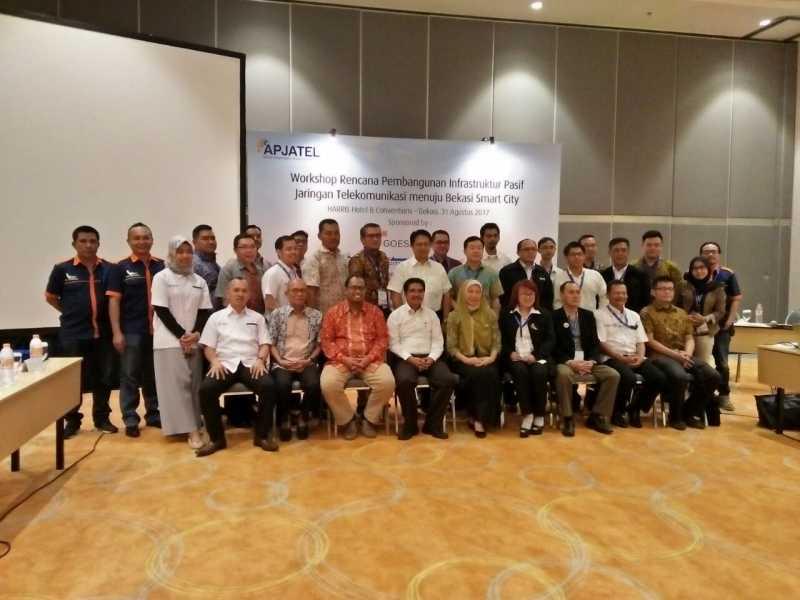 Apjatel Buka Workshop Pengembangan Infrastruktur Telekomunikasi, Dorong Bekasi Wujudkan Smart City