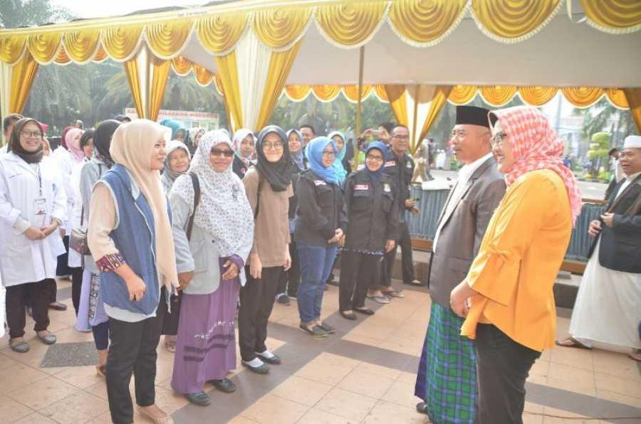 Wali Kota Bekasi Lepas Petugas Pemeriksa Hewan Qurban