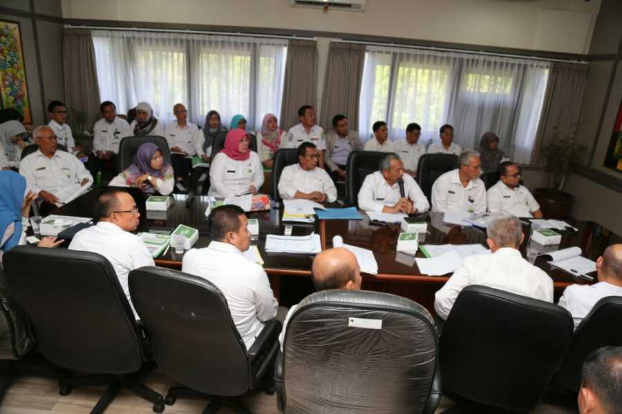 14 OPD Pemerintah Kota Bekasi Lakukan Evaluasi SAKIP, Berikut Pemaparan Wawali Ahmad Syaikhu