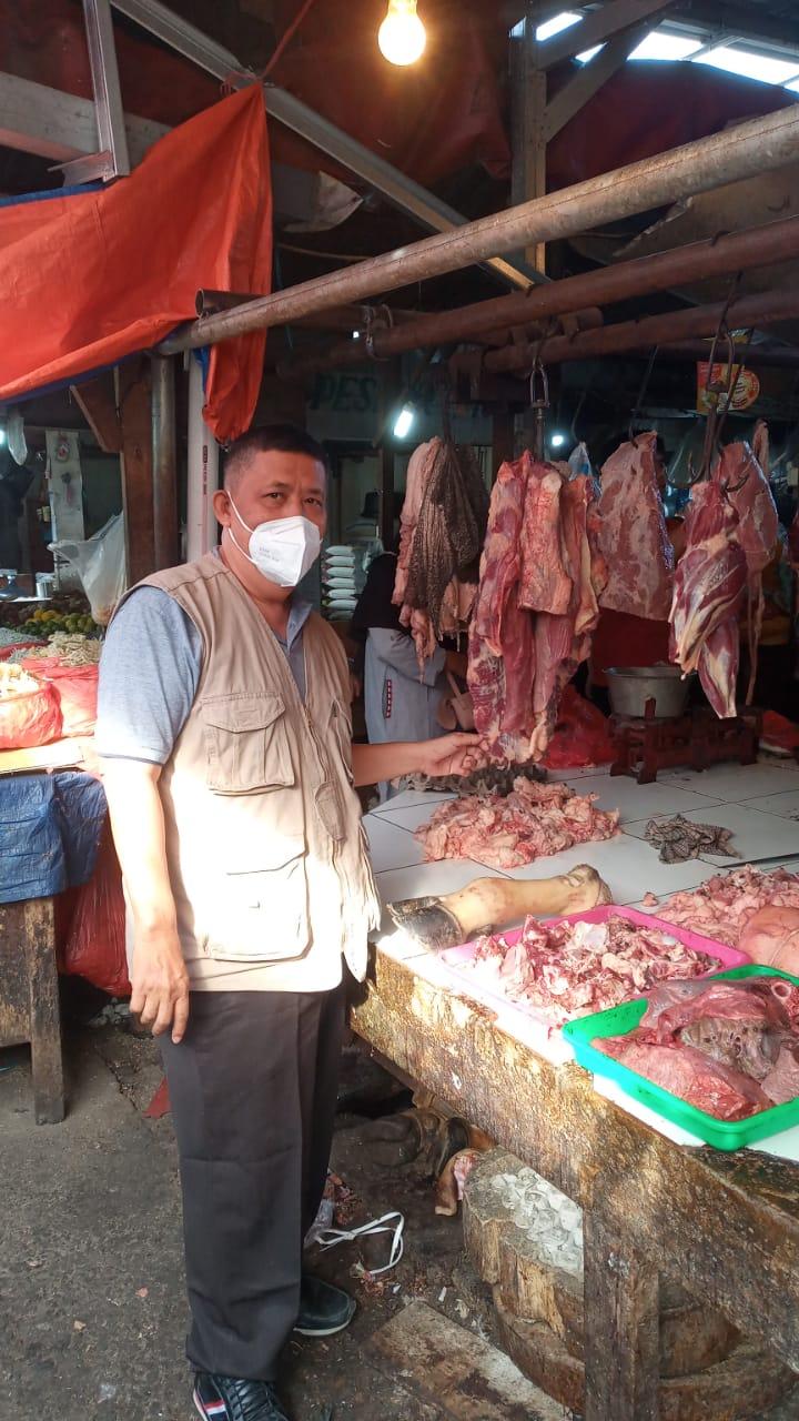 Jelang HBKN, Pemkot Bekasi Monitoring Penjualan Daging Potong dan Olahan Diberbagai Tempat Penjualan